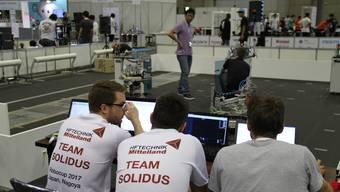 Team Solidus holen am Robocup 2017 in Japan Podestplatz