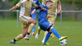 Italgrenchens Fabrizio Laus (hier im Spiel gegen Bellach) traf zum 2:0 für seinen Klub.
