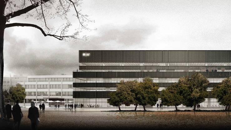 Die Hochschule für Wirtschaft FHNW zieht auf das Herbstsemester 2020 an einen neuen Standort an der Reinacherstrasse 111 in Basel.