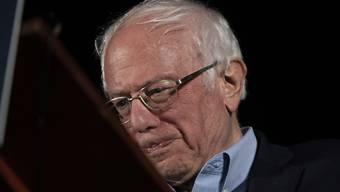 Der demokratische US-Präsidentschaftsbewerber Bernie Sanders bei einem Wahlkampfauftritt in Las Vegas. (Archivbild)