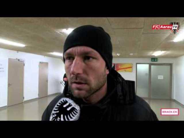 Neuchatel Xamax FCS - FC Aarau 2:0: Interviews mit Sven Lüscher sowie mit Marco Schällibaum