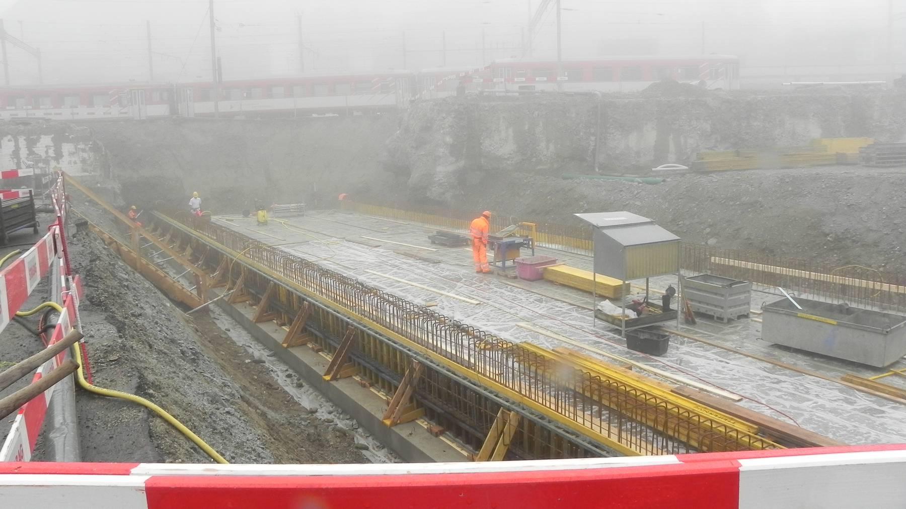 Ski-Arena Andermatt-Sedrun nimmt Formen an