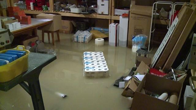 Seeland schon wieder unter Wasser