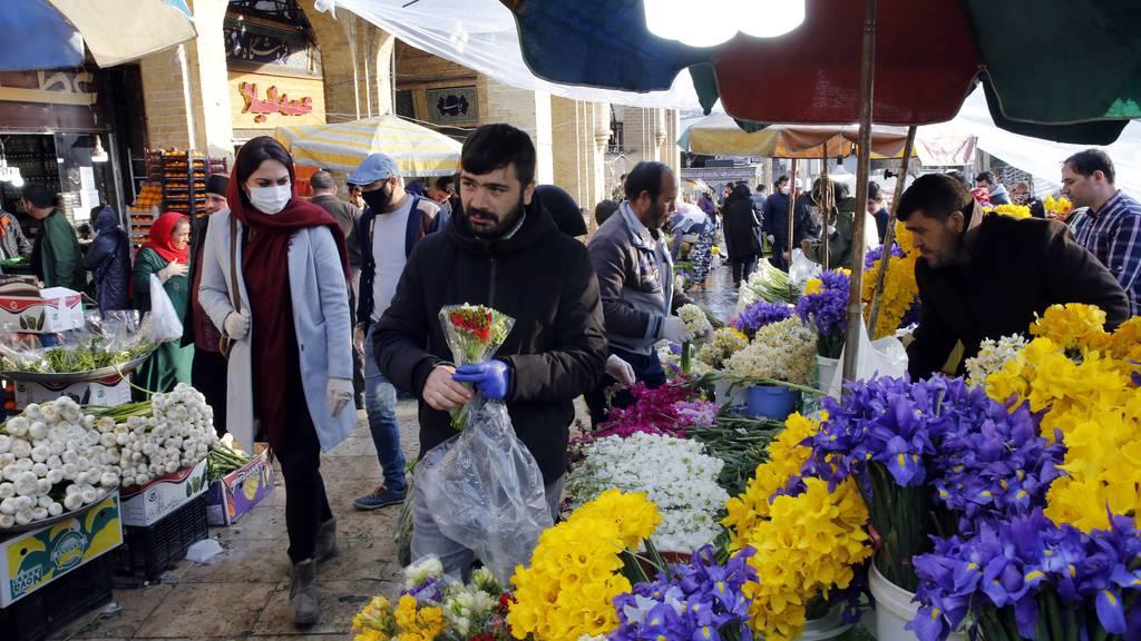 Persisches Neujahr wird von Corona-Pandemie überschattet