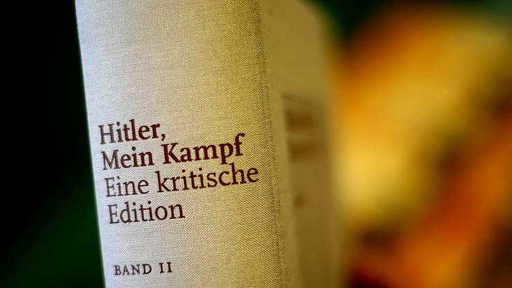 Hitlers «Mein Kampf» schafft es auf Platz 2 der Bestsellerliste