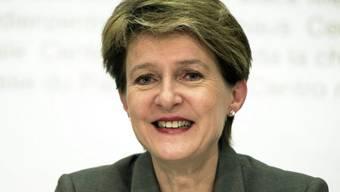 """""""Sie sind schön"""": Bundesrätin Simonetta Sommaruga (Archiv)"""