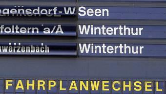 Am 13. Dezember ist es so weit: Der Fahrplanwechsel mit den grössten Umwälzungen seit 1987 steht an.