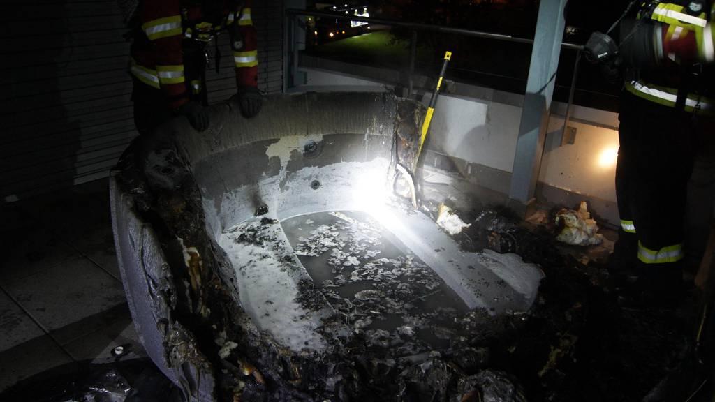 Whirlpool geht in Flammen auf