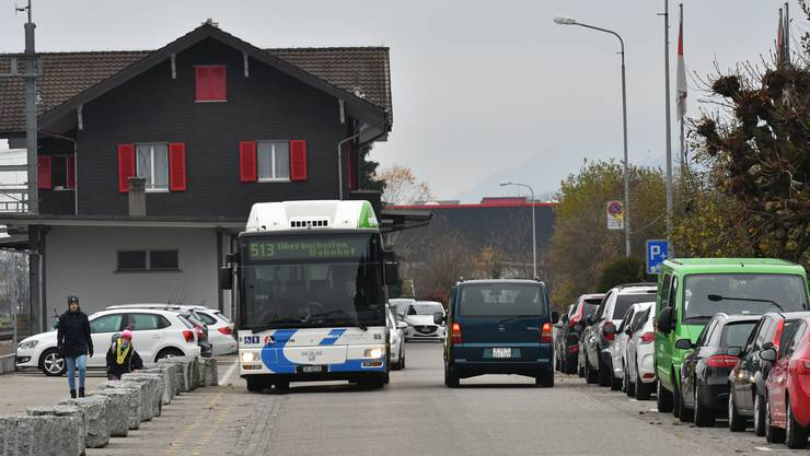 Die Parkplätze am Bahnhof Hägendorf sorgten für Diskussionen.