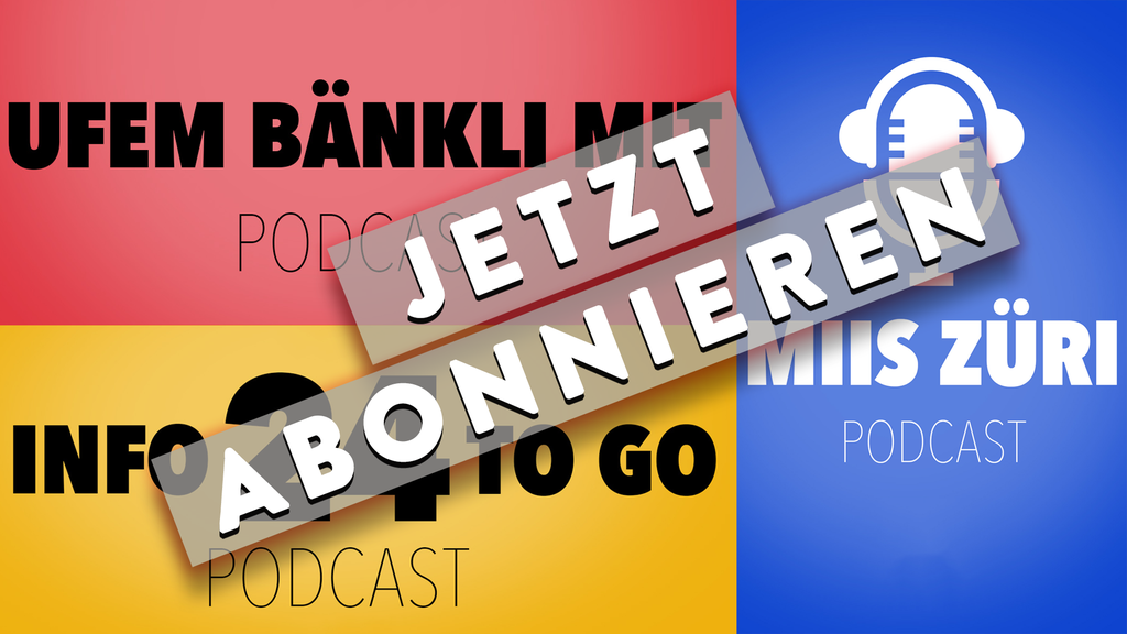 Abonniere unsere Podcasts