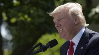Er kann zwar das Klima-Abkommen kündigen – aber nicht den Klimawandel: Donald Trump.