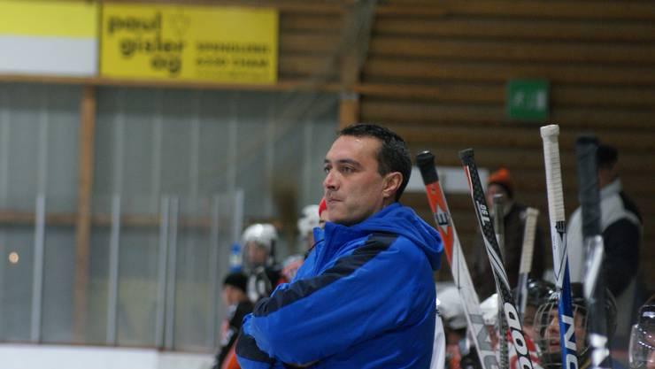 Vereinspräsident Mike Weiss steht wieder an der Bande der Limmattal Wings.