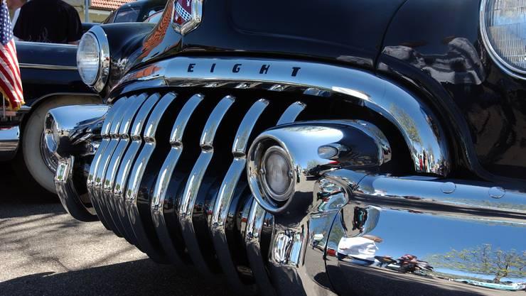 So viel Chrom wie an diesem Buick aus den 1940er-Jahren gab es nachher fast nie mehr.