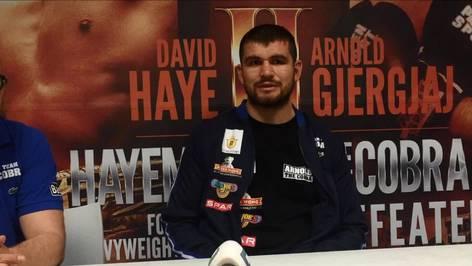 Arnold Gjergjajs Interview nach dem Haye-Kampf