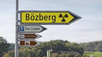 Das von Laufenburg südlich gelegene Bözberg befindet sich Auswahlverfahren für ein HAA- und SMA-Tiefenlager.