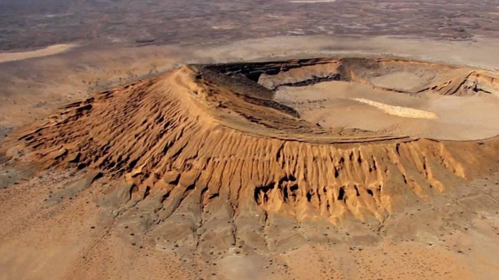 Hier könnten künftig Astronauten für einen Mars-Einsatz üben: Das Naturschutzgebiet El Pinacate in der Sonora-Wüste in Mexiko. (Archiv)