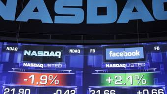 Kurz bevor erstmals mit Facebook-Aktien gehandelt worden war, schien die Welt für die Nasdaq noch in Ordnung (Archiv)