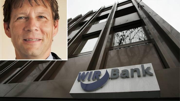 Genossenschaft statt Grossbank: Germann Wiggli steht seit 2005 an der Spitze der WIR Bank.