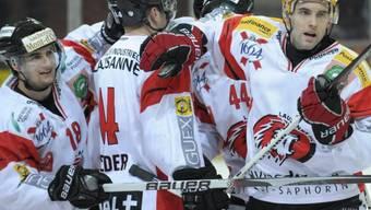 Die Lausanner verkürzten in der Serie auf 1:2