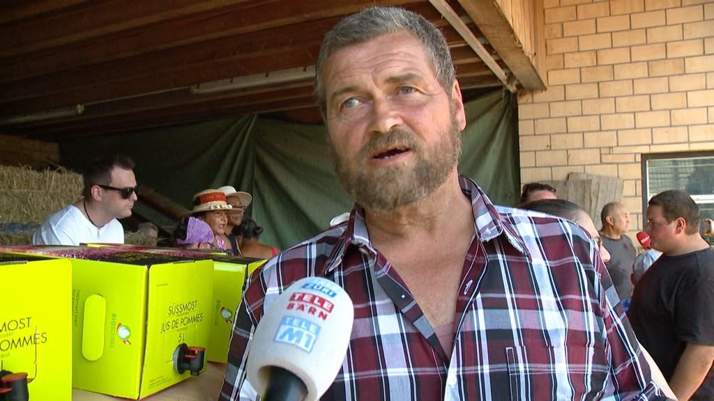 Gerührt: 60'000 Franken für Schweinezüchter Hofer gesammelt