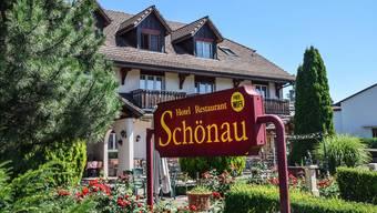 Das vor 20 Jahren gebaut Hotel/Restaurant Schönau in Wohlen will der neue Besitzer als Gastrobetrieb verpachten. Toni Widmer