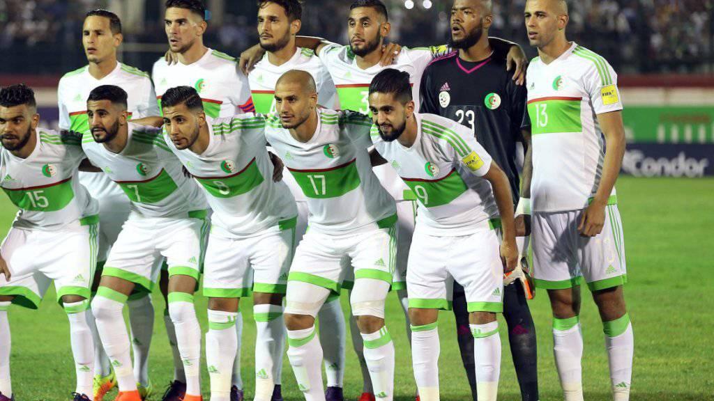 Favorit Algerien scheiterte beim Afrika-Cup in Gabun bereits in der Vorrunde