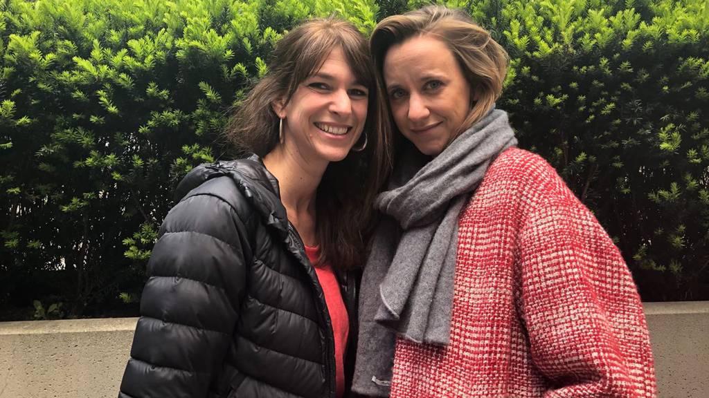 Anna Kaenzig mit Sharon Zucker