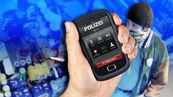 Dümmer als die Polizei erlaubt: Eine Reihe von besonders blöden Schachzügen hat dazu geführt, dass die Polizei den entscheidenden Anruf gleich vom Täter selbst erhält.