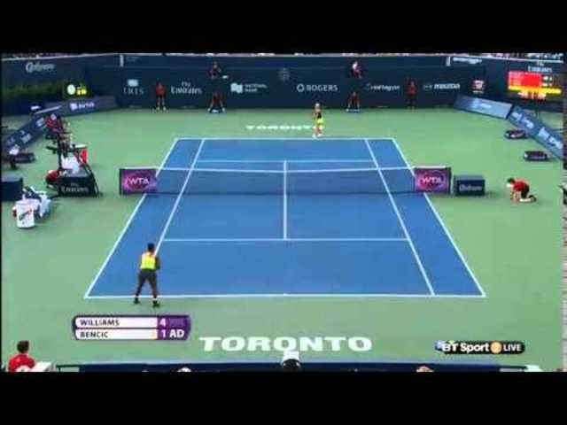 Halbfinal in Toronto: Die Highlights der Partie Bencic gegen Williams