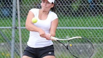 Die Spielerinnen des Tennisclub Bruggs in Action