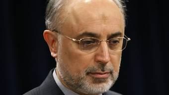 Der iranische Aussenminister Ali-Akbar Salehi spricht von Fortsetzung der Verhandlungen (Archiv)
