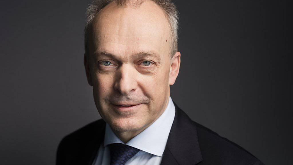 """Swisscom-CEO Urs Schaeppi: """"Zentral ist, dass wir einen langfristig orientierten Anleger haben und zweitens, dass dieser Anker-Aktionär uns unternehmerische Freiheiten gibt. Und dann bin ich persönlich offen, wer dieser Aktionär ist."""""""