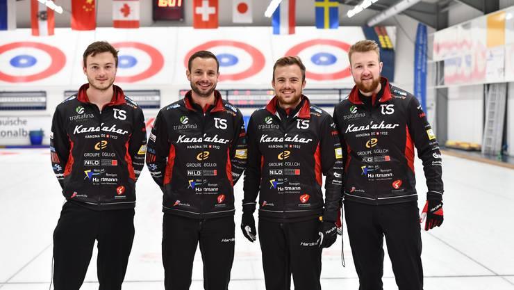 Das junge Team Schwaller setzt sich im Punkterennen gegen die Konkurrenz aus Genf durch.
