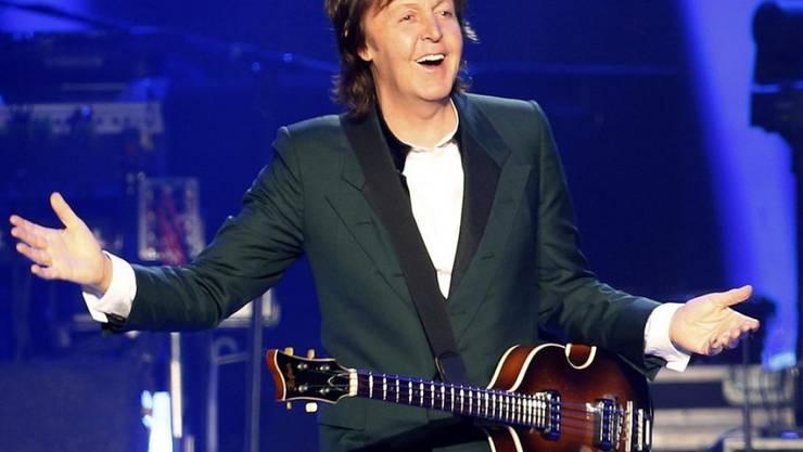 All you need is a Veggie-Day: Musiker und Vegetarier Paul McCartney wirbt seit Jahren für einen fleischlosen Montag. (Archivbild)