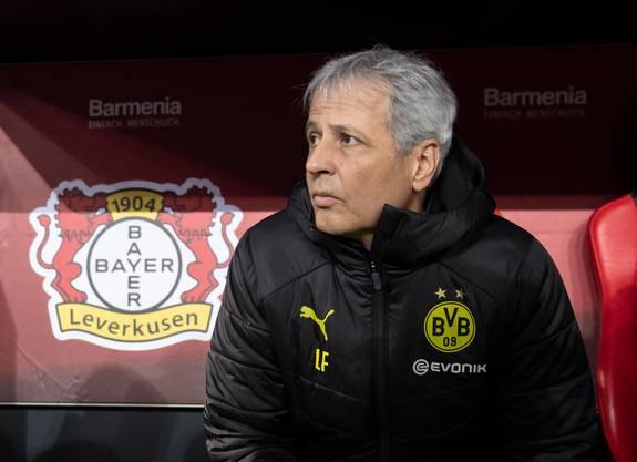 Lucien Favre steht in Dortmund wieder einmal in der Kritik.