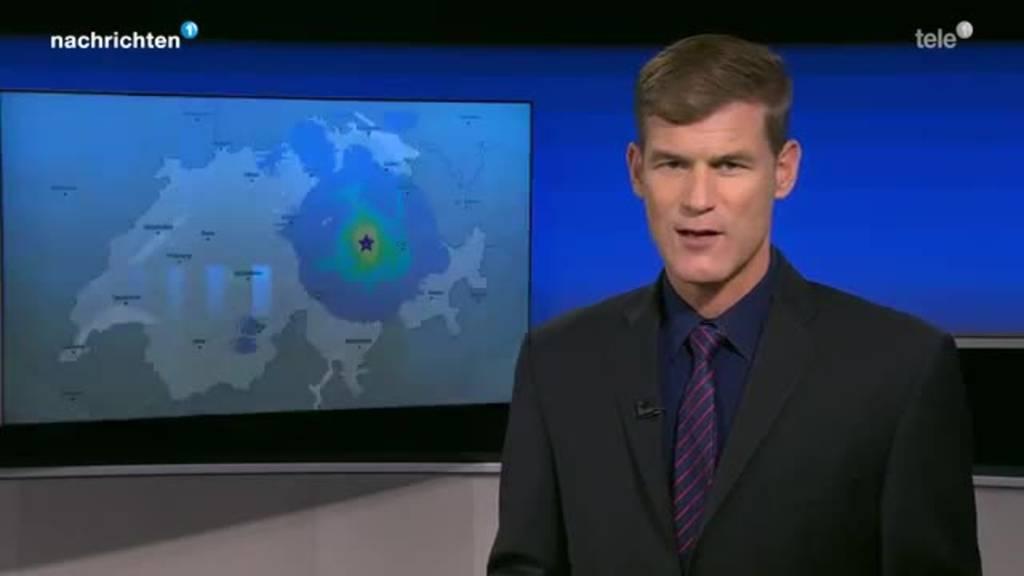 Erdbeben in der Region