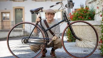 Fahrradliebhaber und IG Velo Aktivist Christian Amoser