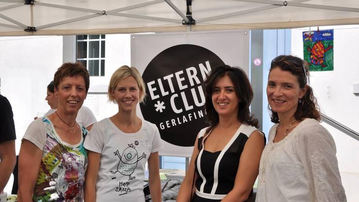 von links: Margrit Crottogini (Gründungspräsidentin), Barbara Heri (aktuelle Präsidentin), Oezlem Kellenberger-Yüksel und Karin Frey (beides ehemalige Präsidentinnen)