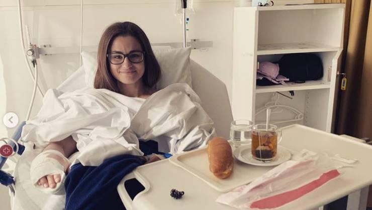 Elena Quirici hat die Operation gut überstanden.