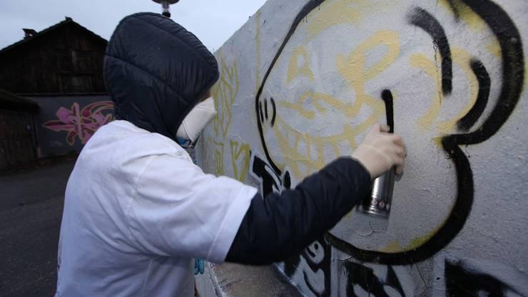 Der Graffiti-Workshop ist so beliebt, dass er immer wieder angeboten wird.