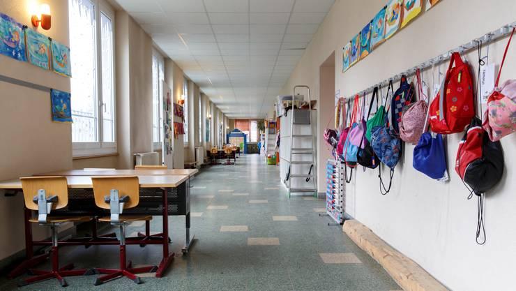 Das Schulhaus Bleichematt in Biberist wird saniert.
