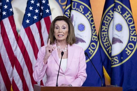 Schwenkt langsam auf Impeachment-Kurs: Nancy Pelosi.