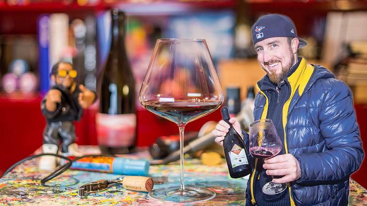 Rapper Fetch hat seine Liebe zum Wein entdeckt.