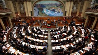 Blick in den Nationalratssaal.