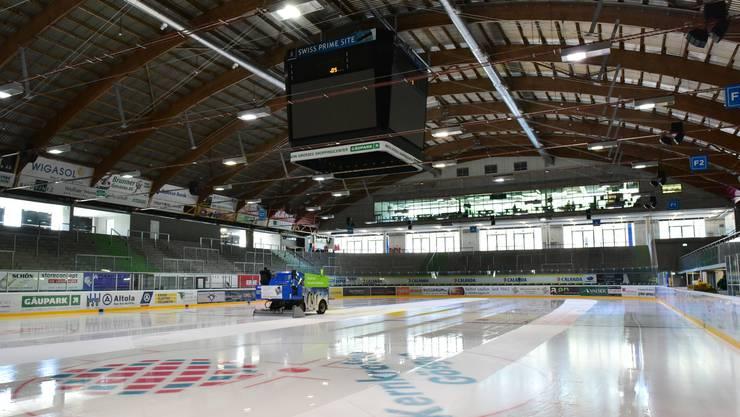 Die Eishalle Kleinholz wird bald wohl mehr im Fernsehen zu sehen sein.