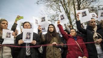 Damals gab es noch Hoffnung: Freunde und Familienangehörige beten am 22. November gemeinsam für Tugce