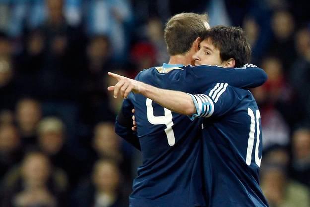 Messi jubelt schon wieder