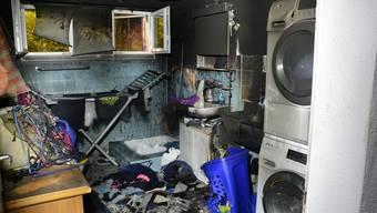 Verletzt wurde beim Brand niemand. Es entstand erheblicher Sachschaden.