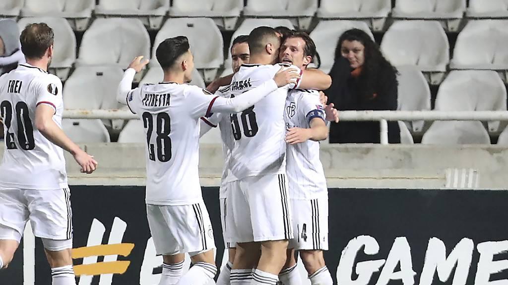 Basel zeigt auf Zypern sein Europacup-Gesicht