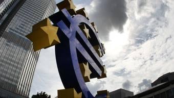 Lichtblick in der Krise: EZB-Hauptquartier in Frankfurt (Archiv)